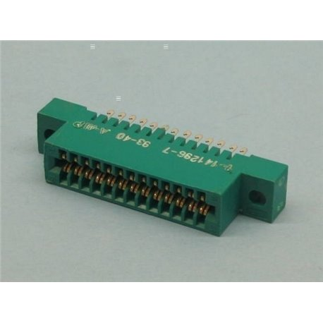 CONECTOR CARTA SOLD 2X13V 2,54